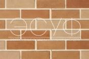 Фасадная плитка Каньон Гладкий кирпич многоцветный