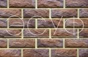 Фасадная плитка Каньон Сколотый кирпич 33