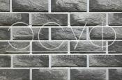 Фасадная плитка Каньон Сколотый кирпич 38
