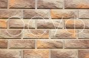 Фасадная плитка Каньон Сколотый кирпич 39