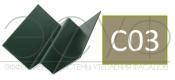 Внутренний угловой профиль Cedral Click C03 Белый песок