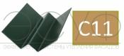 Внутренний угловой профиль Cedral Click C11 Золотой песок