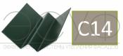 Внутренний угловой профиль Cedral Click C14 Белая глина