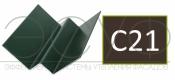 Внутренний угловой профиль Cedral Click C21 Коричневая глина