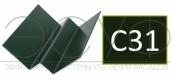 Внутренний угловой профиль Cedral Click C31 Зеленый океан