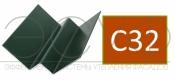 Внутренний угловой профиль Cedral Click C32 Бурая земля