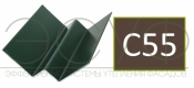 Внутренний угловой профиль Cedral Click C55 Кремовая глина
