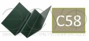 Внутренний угловой профиль Cedral Click C58 Осенний лес
